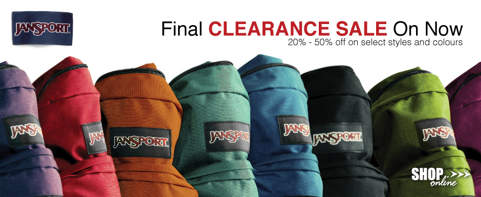 JanSport Clearance Sale Canada Luggage Depot