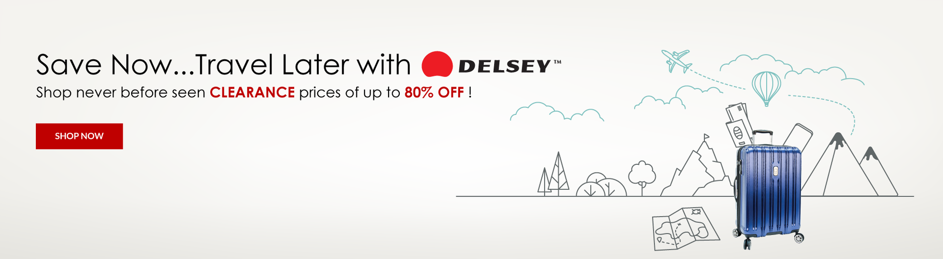 Delsey Luggage Sale Canada