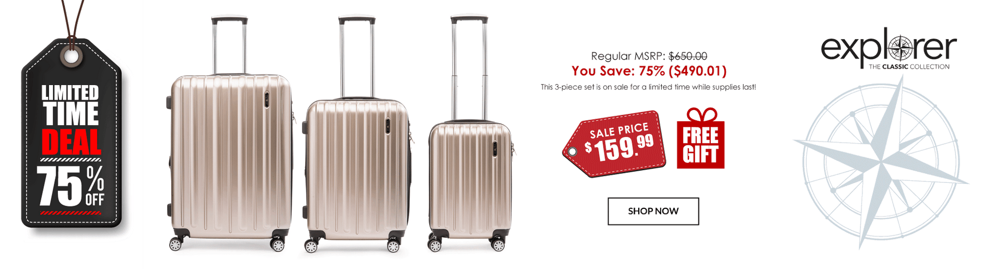 Explorer Lightweight Luggage Sale - Canada Luggage Depot