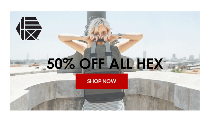 Hex Backpack Sale