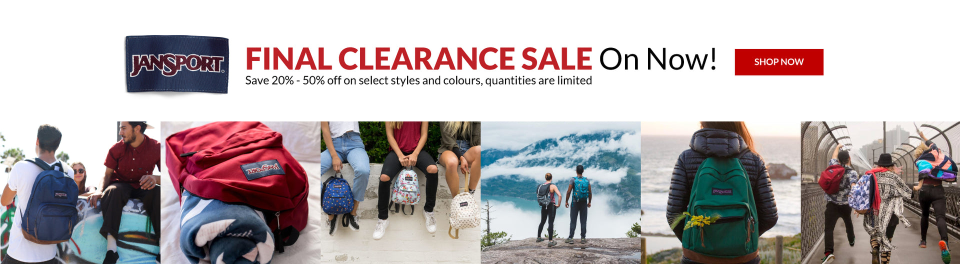 JanSport Final Clearance Sale - Canada Luggage Depot