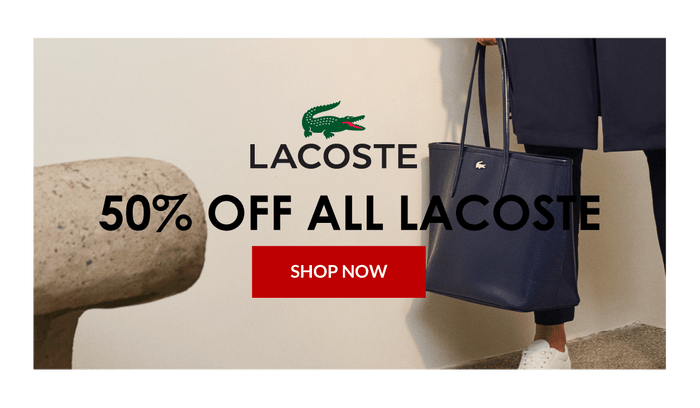 Lacoste Bags and Backpacks Sale