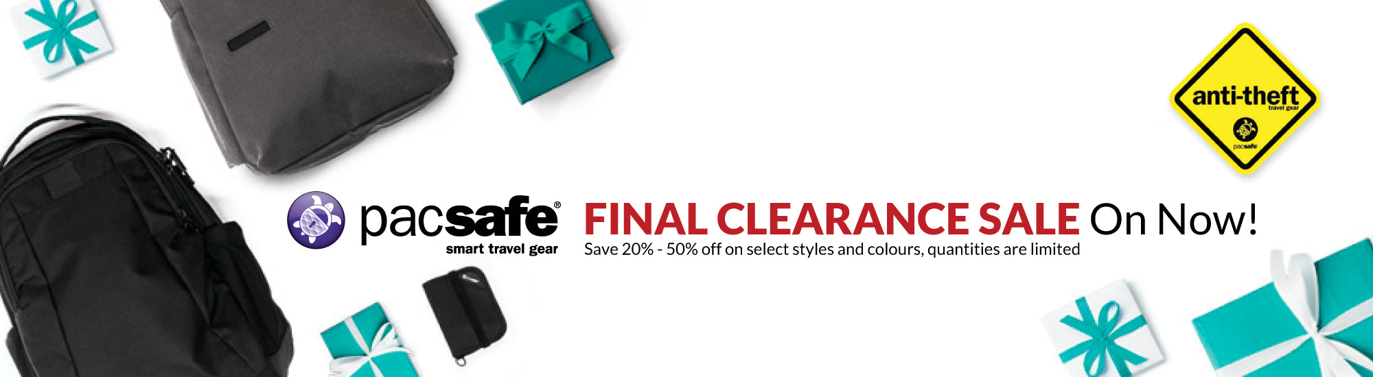 Pacsafe Clearance Sale - Canada Luggage Depot
