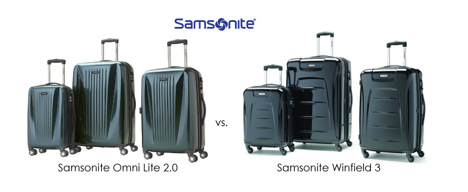 Samsonite Omni Lite 2.0 vs Samsonite Winfield 3 Luggage