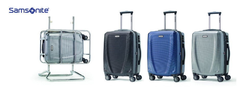 Samsonite Pursuit DLX Spinner Carry-On Widebody Luggage - Canada Luggage Depot