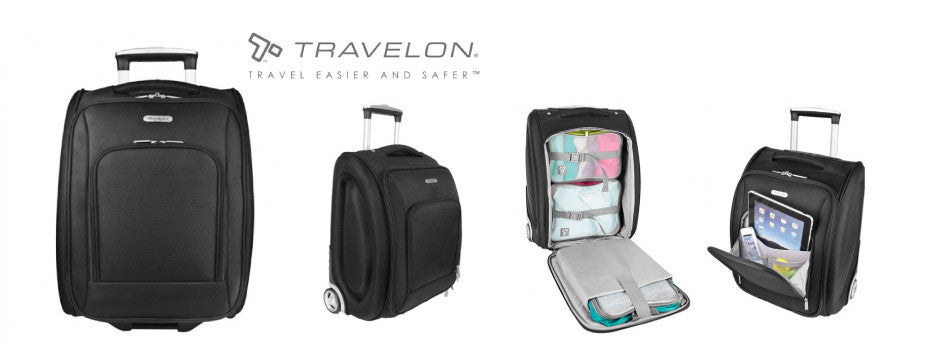 Travelon Carry On Size Underseat Luggage - Canada Luggage Depot
