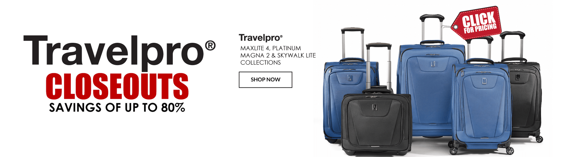 Travelpro Luggage Sale - Canada Luggage Depot