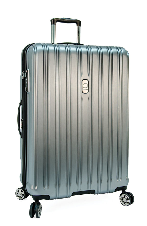 "Delsey ChromeTec 30.5"" Spinner Luggage - Silver"