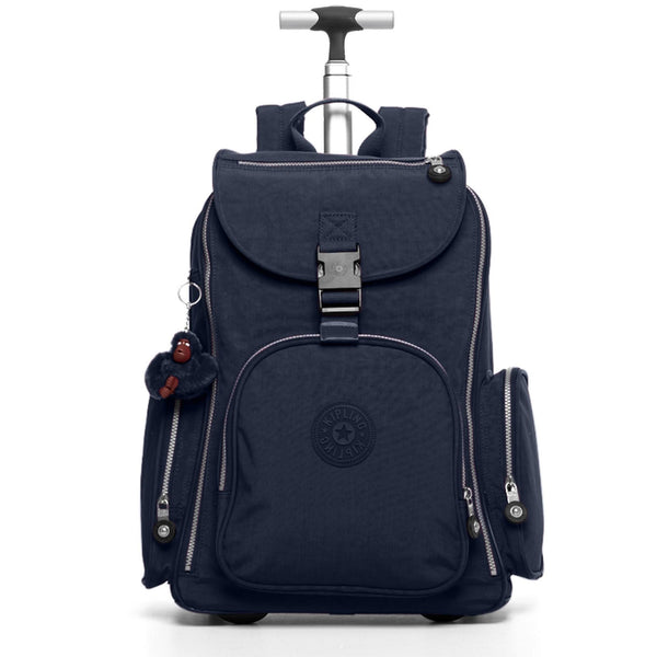 Kipling Alcatraz II Laptop Backpack on Wheels - True Blue