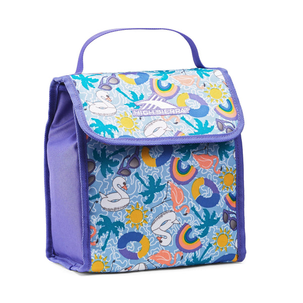 High Sierra Classic Lunch Kit - Pool Party/Lavender