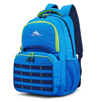High Sierra Joel Lunch Kit Backpack - Sport Blue/True Navy/Lime