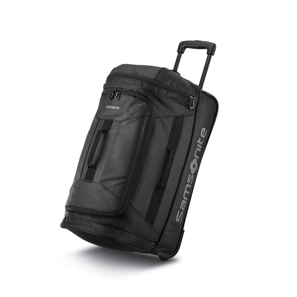 "Samsonite Andante 2 22"" Wheeled Duffel - All Black"