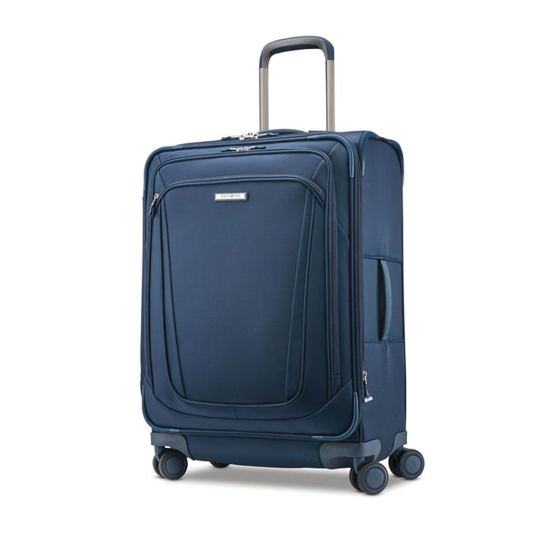 "Samsonite Silhouette 16 Softside Expandable 25"" Spinner Luggage - Evening Teal"