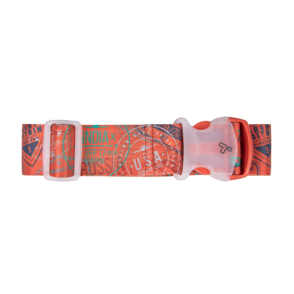 Travelon Luggage Strap - Passport Stamps