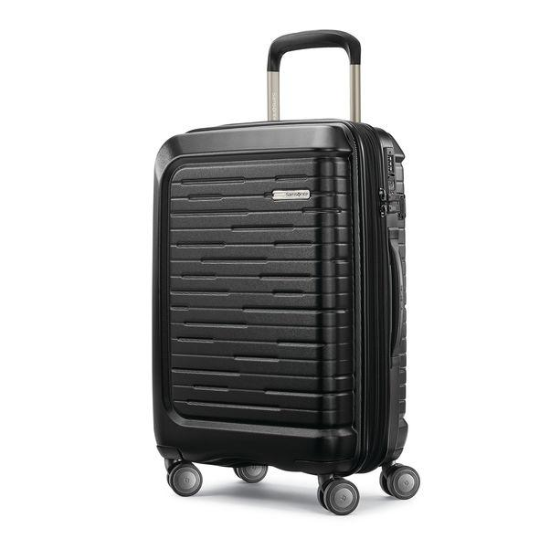 Samsonite Silhouette 16 20 Inch Hardside Spinner Luggage - Obsidian Black