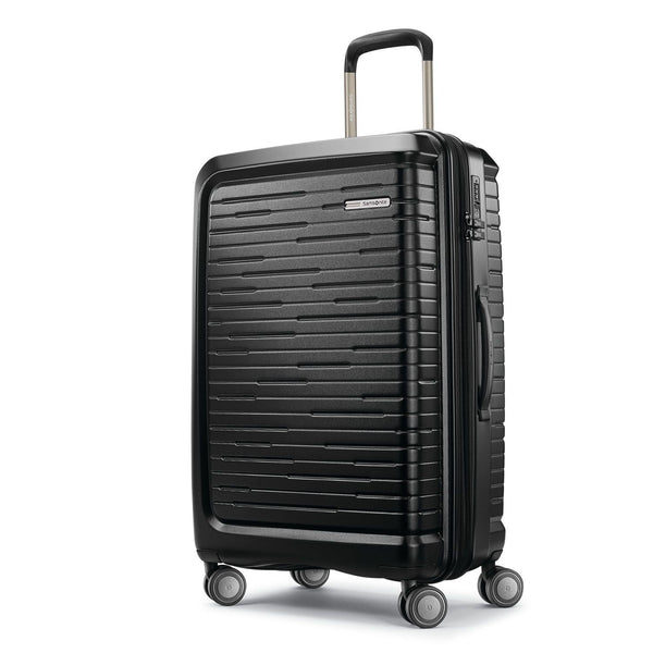 Samsonite Silhouette 16 25 Inch Hardside Spinner Luggage - Obsidian Black
