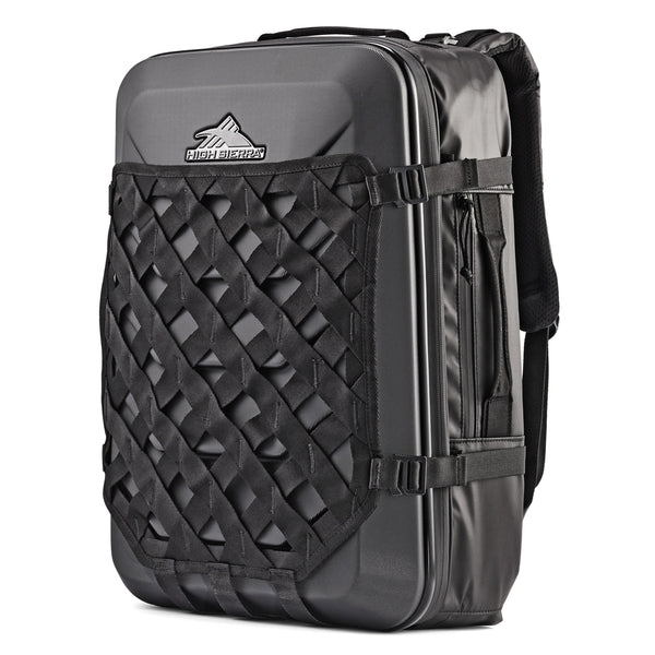 High Sierra OTC Weekender Backpack - Black/Black/Black