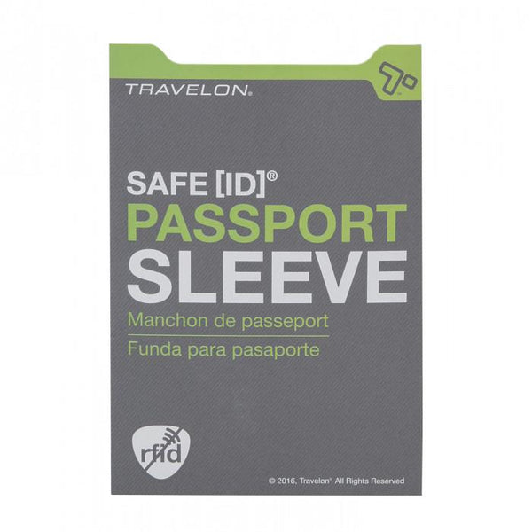 Travelon SafeID RFID Blocking Passport Sleev