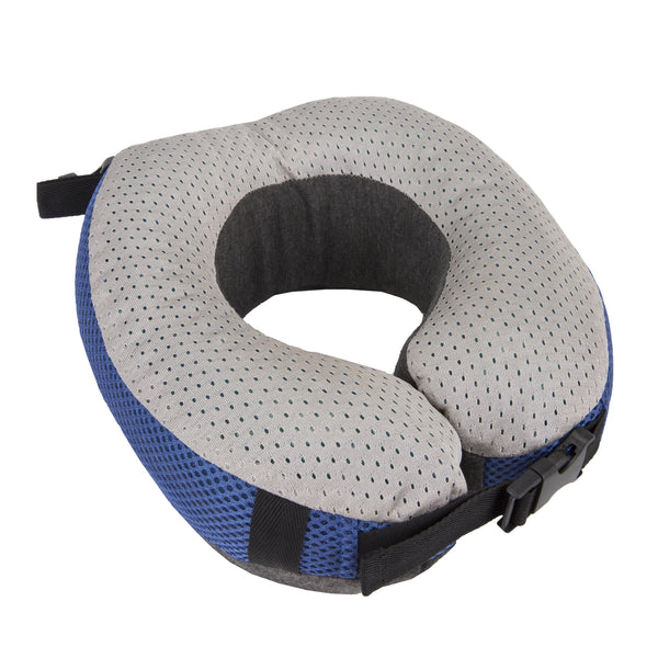 Travelon Cooling Gel Memory Foam Pillow - Cobalt/Gray