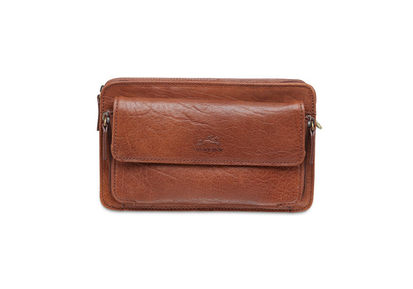 Mancini ARIZONA Unisex Bag - Cognac