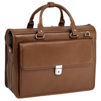 McKlein Gresham Litigator Leather Laptop Briefcase