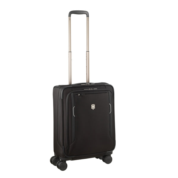 Victorinox Werks Traveler 6.0 Softside Global Carry-On Spinner Luggage - Black