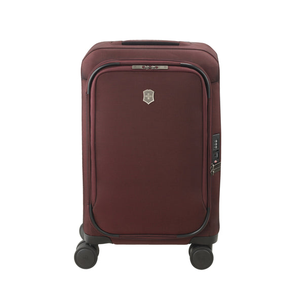 Victorinox Connex Softside Frequent Flyer Carry-On Spinner Luggage - Burgundy
