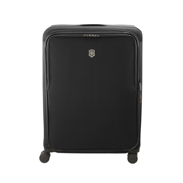 Victorinox Connex Extra-Large Softside Upright Spinner Luggage - Black