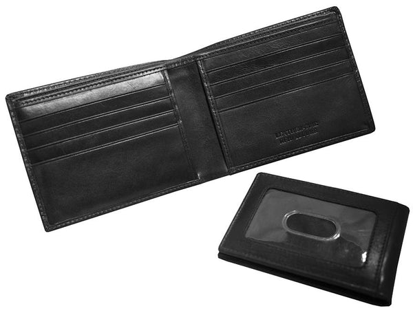 Mancini BOULDER Men's RFID Secure Billfold with Removable Passcase