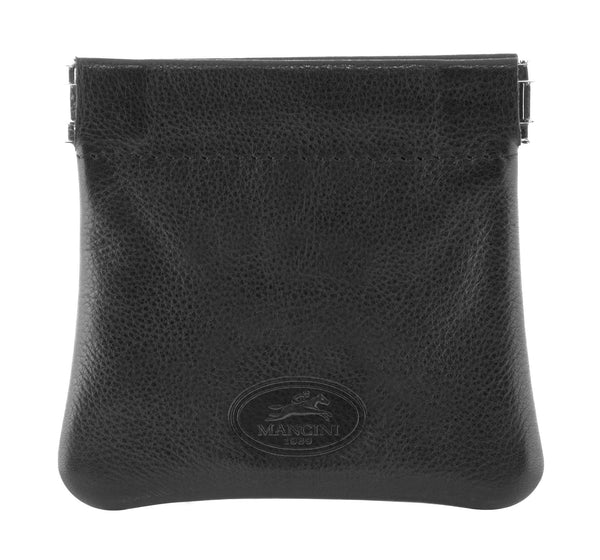 Mancini MANCHESTER Coin Pocket - Black