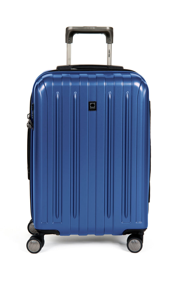 "Delsey Helium Titanium 19"" Carry-On Spinner Luggage - Navy Blue"