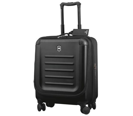 Victorinox Spectra 2.0 Dual-Access Extra-Capacity Carry-On Luggage - Black