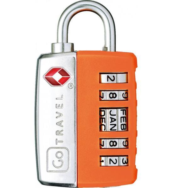 Go Travel My Date Lock TSA Combination Lock - Orange