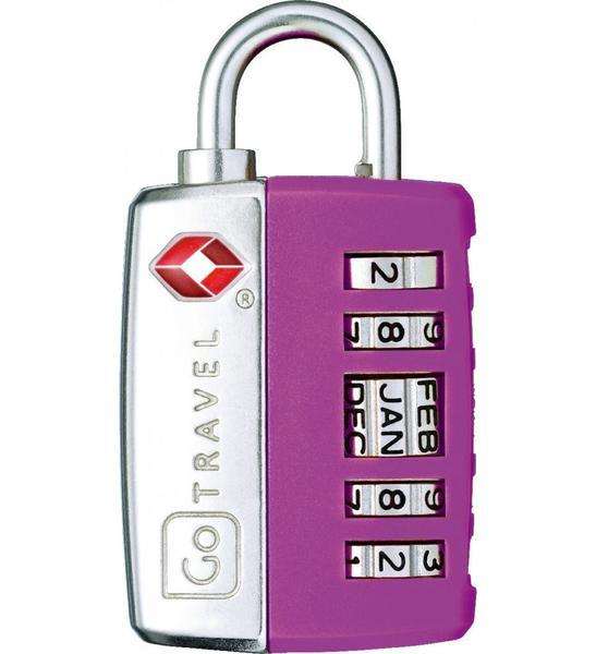 Go Travel My Date Lock TSA Combination Lock - Purple