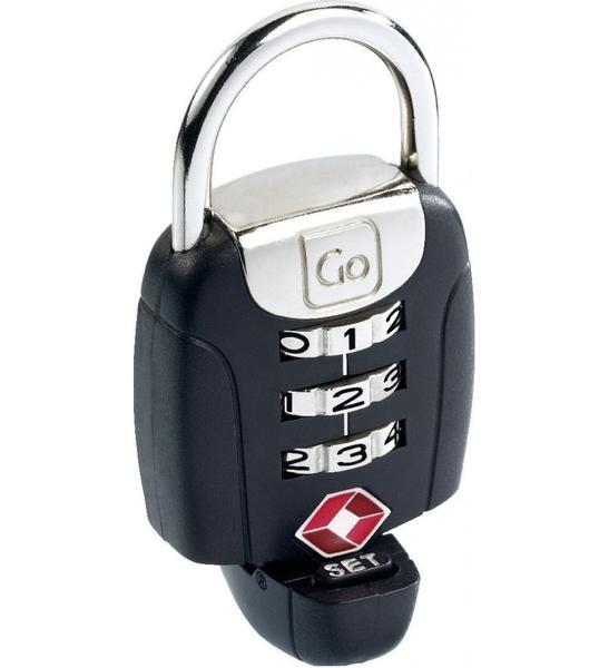Go Travel Twist'n'Set Combination TSA Lock - Black