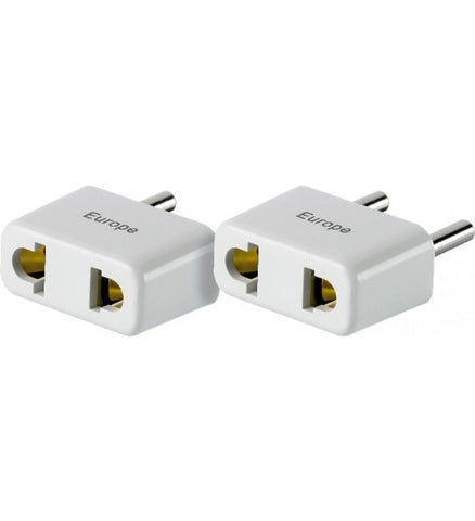 Go Travel North America to Europe Twin Non Grounded Adapter