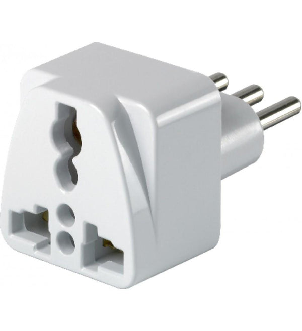Go Travel North & South America to Italy Adapter - White