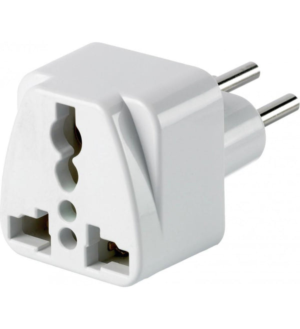 Go Travel Worldwide to Switzerland Travel Adapter - White