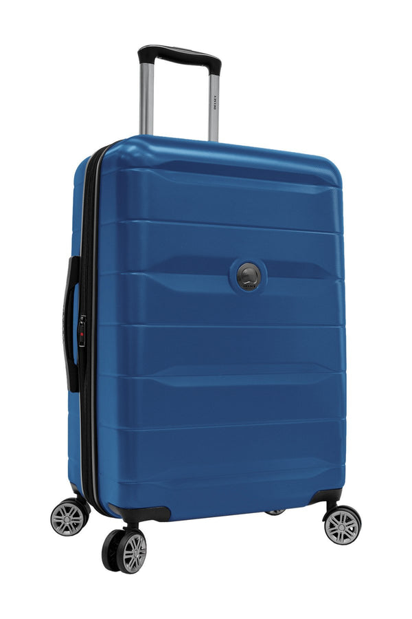 Delsey Comète 2.0 24 Inch Expandable Spinner Luggage - Blue