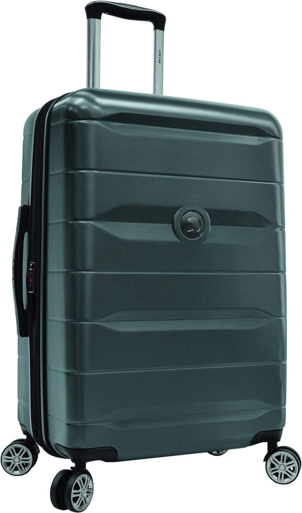 Delsey Comète 2.0 24 Inch Expandable Spinner Luggage - Charcoal