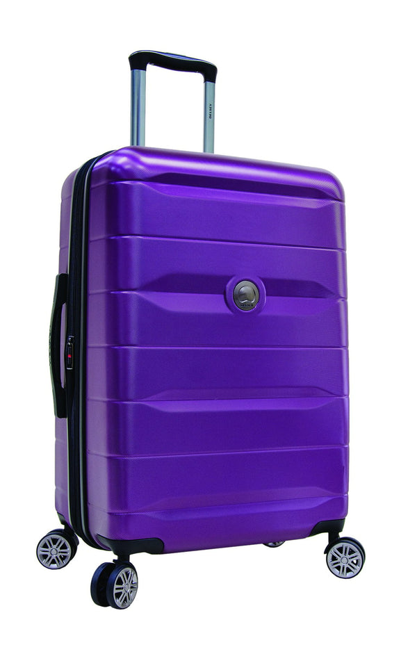 Delsey Comète 2.0 24 Inch Expandable Spinner Luggage - Purple
