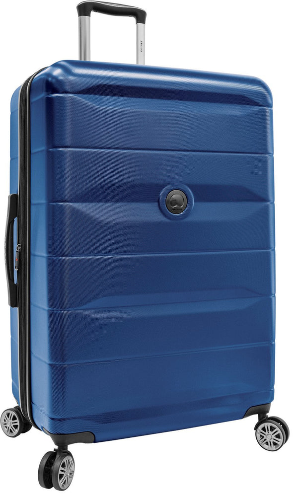 Delsey Comète 2.0 28 Inch Expandable Spinner Luggage - Blue