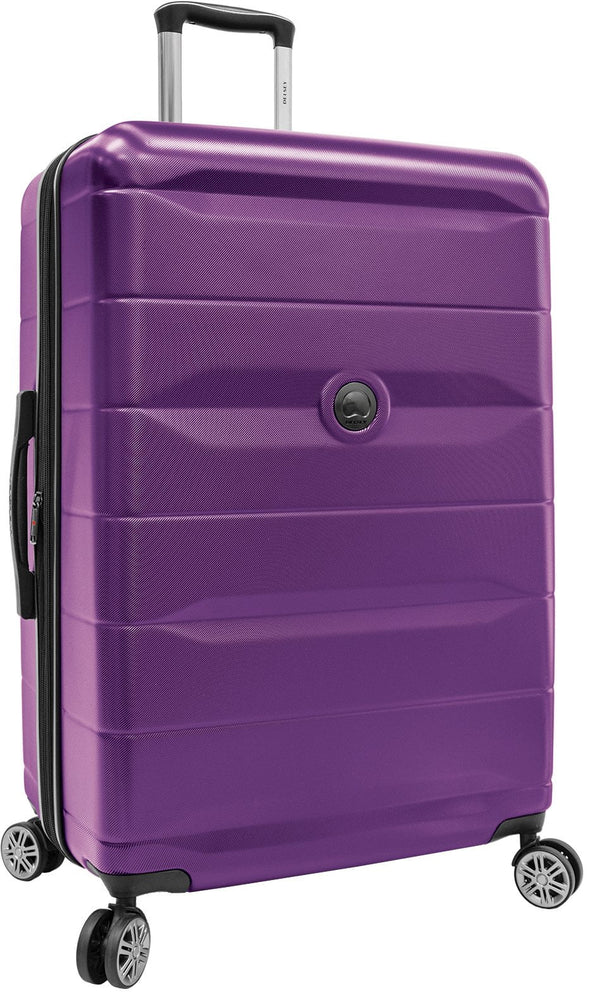Delsey Comète 2.0 28 Inch Expandable Spinner Luggage - Purple