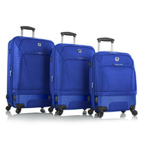 Leo by Heys HBX3 Three Piece Hybrid Expandable Spinner Luggage Set