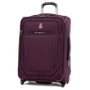 Travelpro Crew VersaPack Max Carry-On Expandable Rollaboard Luggage - Perfect Plum