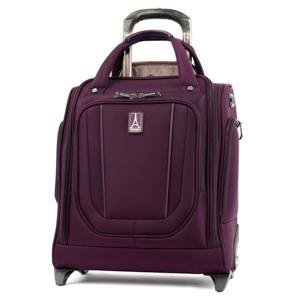 Travelpro Crew VersaPack Rolling Underseat Carry-On Luggage - Perfect Plum