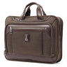 Travelpro Platinum Elite Slim Business Brief - Rich Espresso