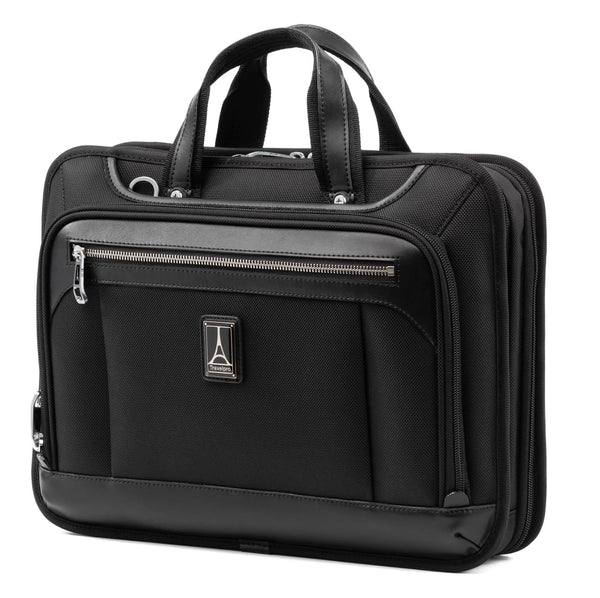Travelpro Platinum Elite Slim Business Brief - Shadow Black