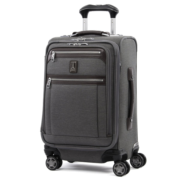 Travelpro Platinum Elite 20 Inch Expandable Business Plus Carry-On Spinner - Grey