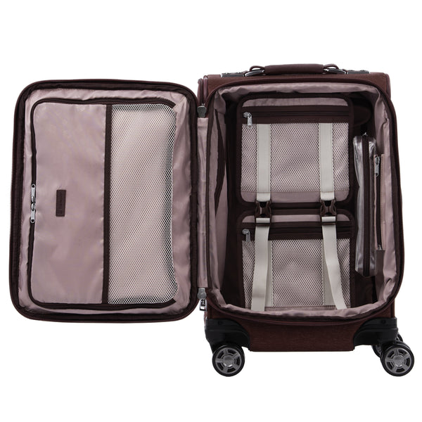 Travelpro Platinum Elite 20 Inch Expandable Business Plus Carry-On Spinner